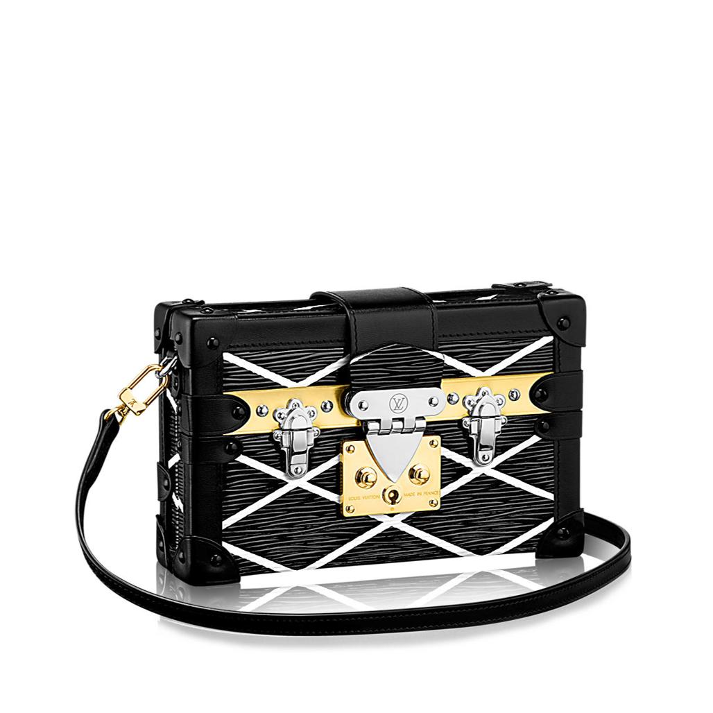 Designer handbags Louis Vuitton Petite Malle